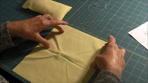 Doll Bed Pillow Tutorial Measuring