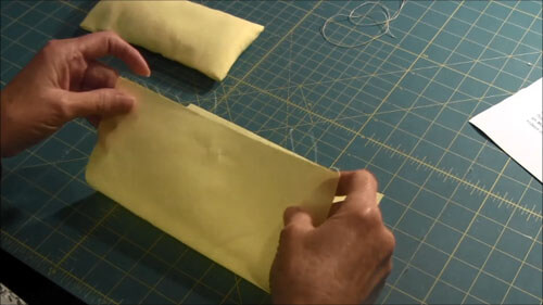 Doll Bed Pillow Tutorial Folding