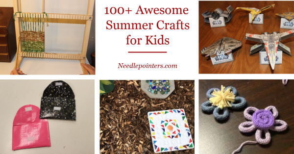 101 Awesome Summer Crafts for Kids - pin