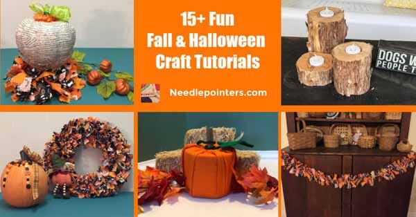 15+ Fall and Halloween Crafts Decor fb