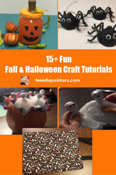 15+ Fall and Halloween Crafts Kids pin