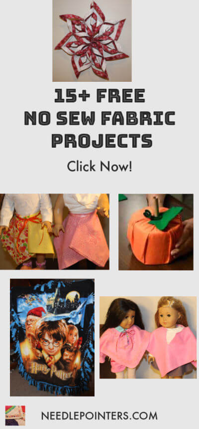 15+ NO-SEW FABRIC PROJECTS