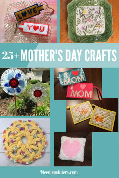 25+ Mothers Day Craft Ideas - pin