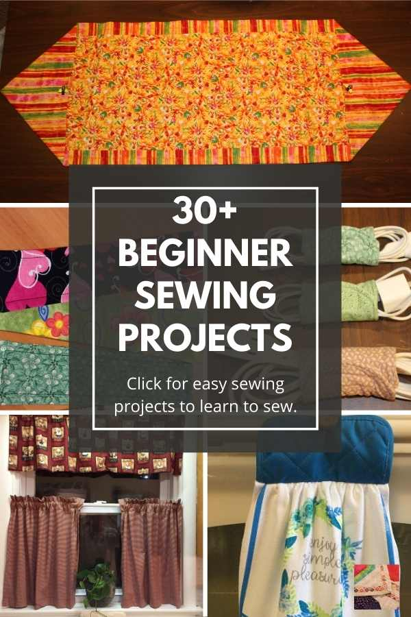 30+ Free Easy Beginner Sewing Projects and Patterns for Adults and Kids