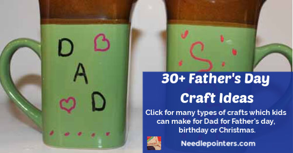 30+ Father's Day Craft Ideas - fb