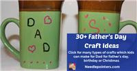 30+ Father's Day Gift Ideas for Kids To Make