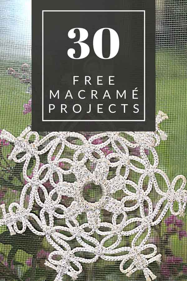 Over 30 Completely Free Macrame Projects