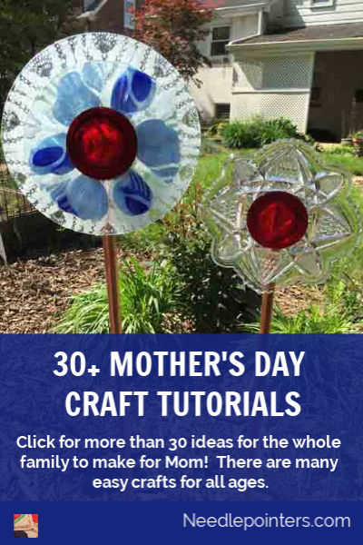 30+ Mother's Day Craft Tutorials - pin
