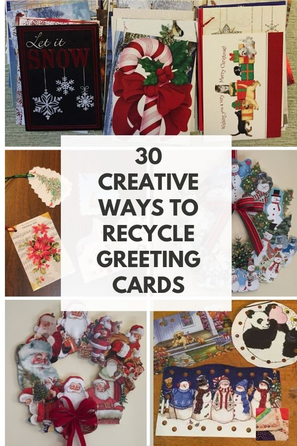 Recycle, Reuse, Repurpose, and Upcycle  Greeting Cards