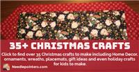 35+ DIY Christmas Crafts