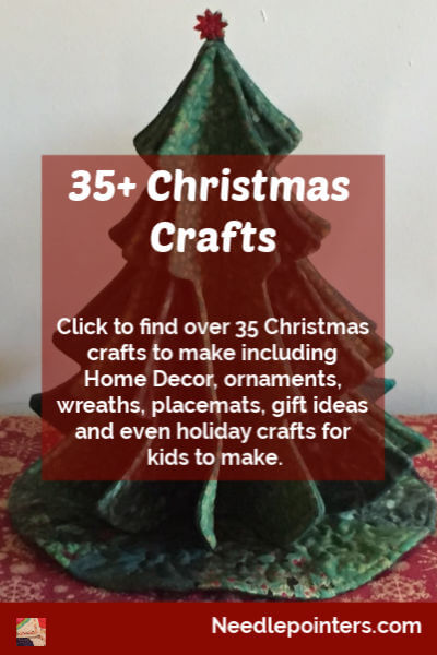 35+ Christmas Crafts - pin