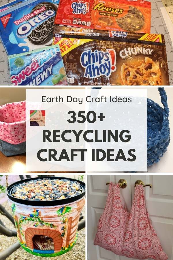 OVER 350 FREE RECYCLE CRAFT IDEAS