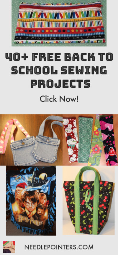 40+ BACK TO SCHOOL SEWING PROJECTS