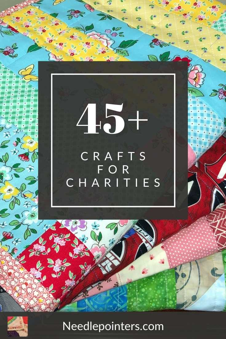 45+ Crafts for Charities