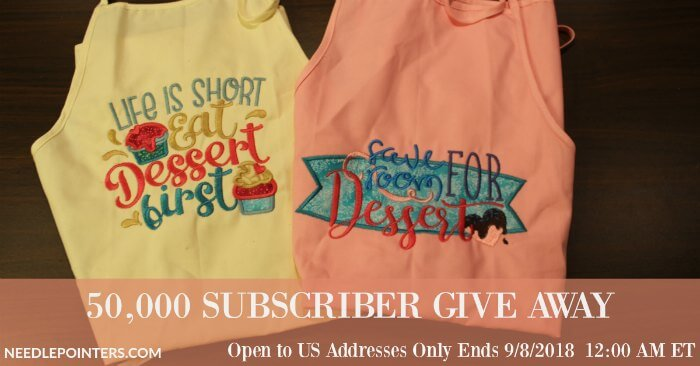 50,000 Subscriber Prize, Aprons