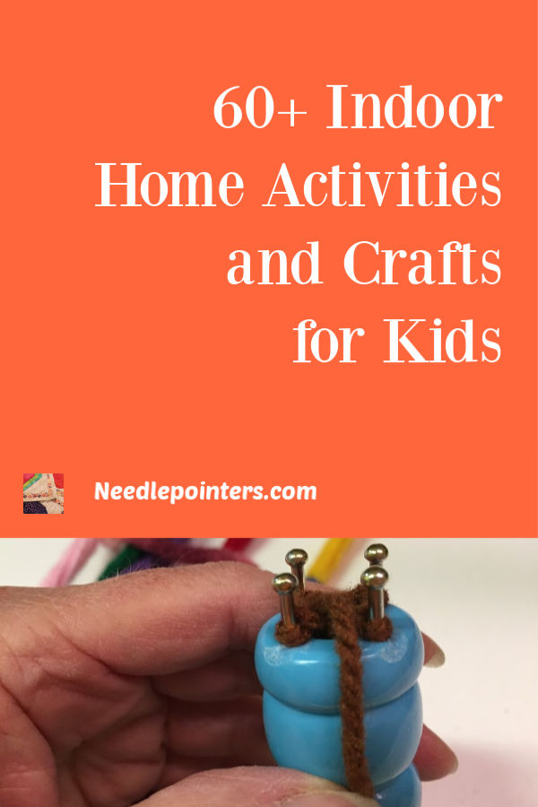 60+ Indoor Home Activities and Crafts for Kids - pin