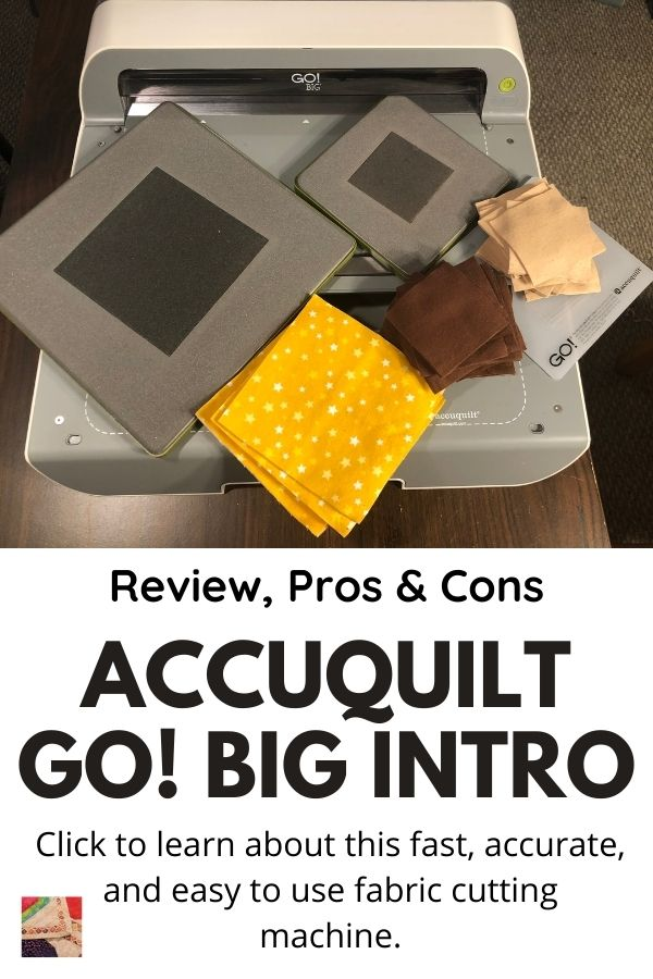 Accuquilt Go! Big Demo with Pros & Cons