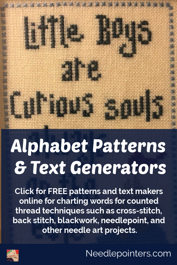 Alphabet Patterns & Text Generators (FREE)