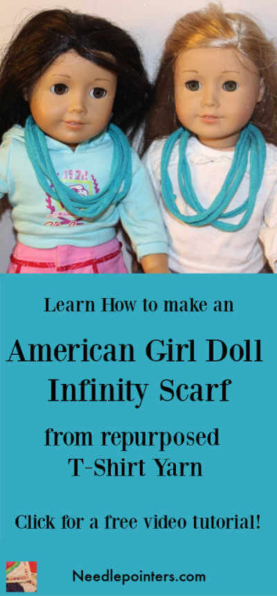 Doll Infinity Scarf Tutorial