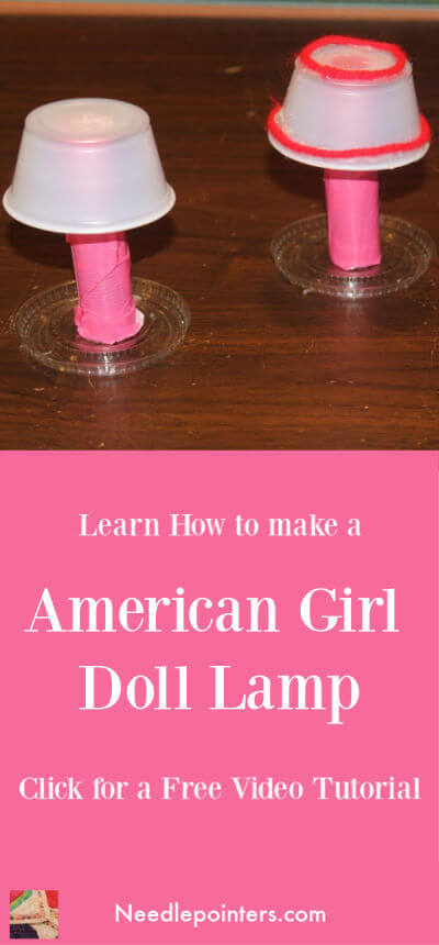 How to make a Lamp for your American Girl Doll