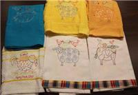 Animal Stacker Towel - Machine Embroidered Towels
