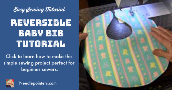 How to Sew a Baby Bib