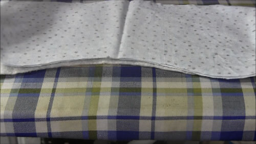 Baby Burp Cloth Tutorial - Layer Fabrics