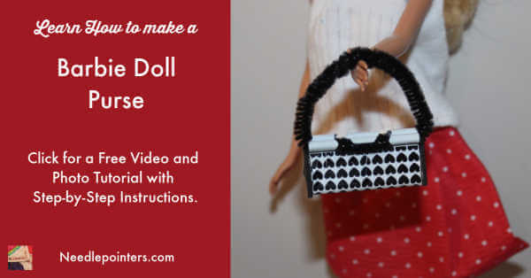 How to make a Barbie Doll Purse