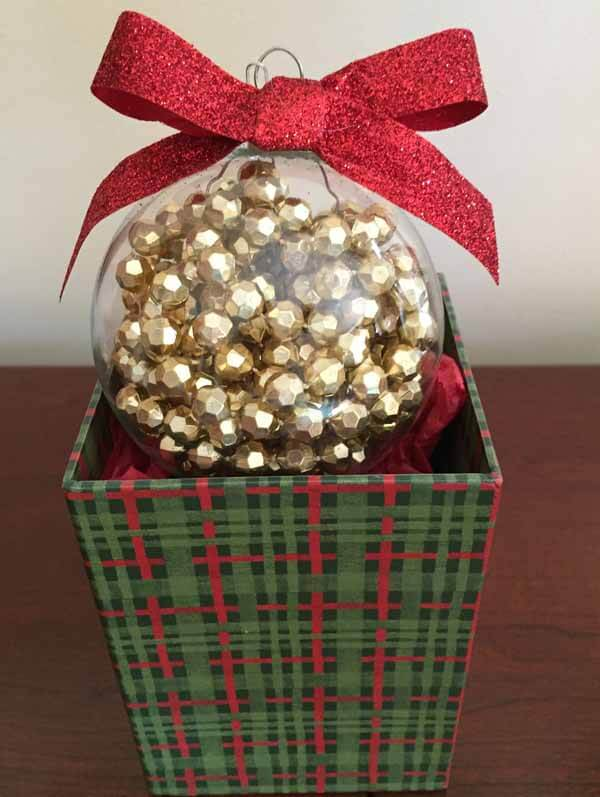 Bead Garland Christmas Ornament - On Box