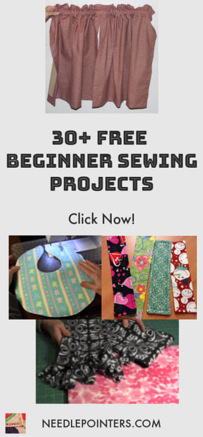 30+ BEGINNER SEWING PROJECTS