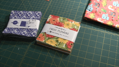 Beginner Quilt Series - Cut the Blocks - Charm Packs
