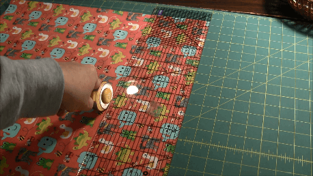 Learn to Quilt - Cut Strips