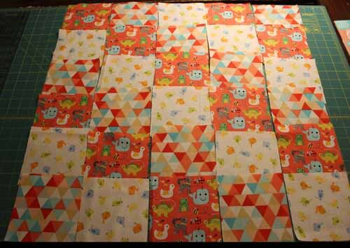 Learn to Quilt - Lay Out Blocks