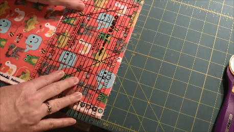 Beginner Quilt Series - Cut the Blocks - Square Off