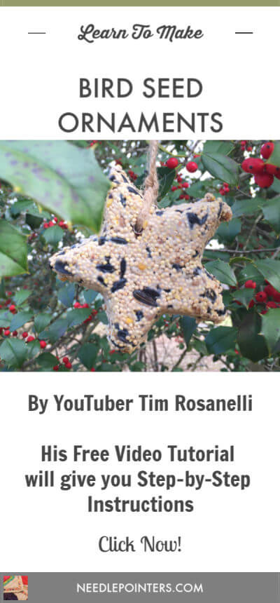 Bird Seed Ornament Tutorial