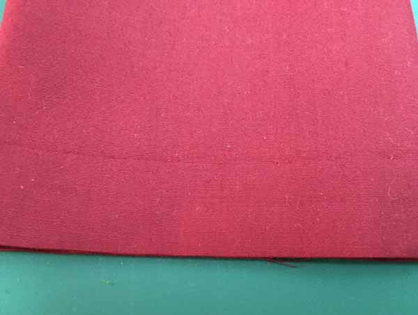 Blind Hem Stitch Tutorial - Finished Hem