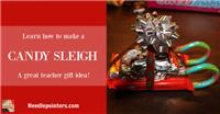 Learn how to make a Candy Sleigh
