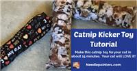 DIY Catnip Cat Pillow Kicker