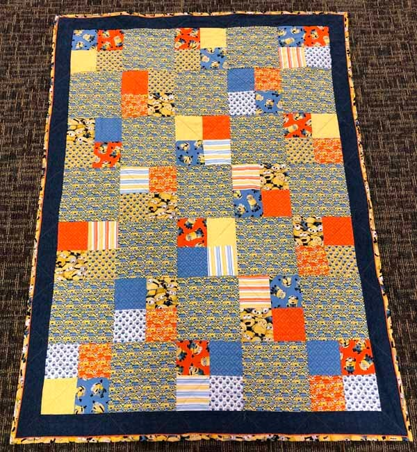 Charm Pack Quilt Pattern - Finished Quilt
