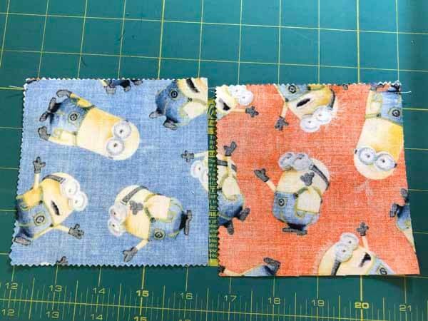 Charm Pack Quilt Pattern - Sewn Halves