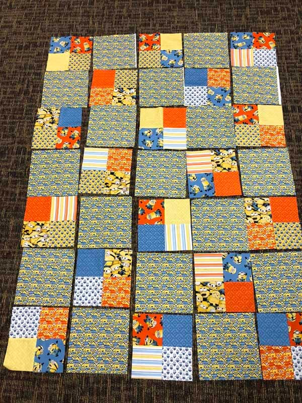 Charm Pack Quilt Pattern - Arranged Blocks
