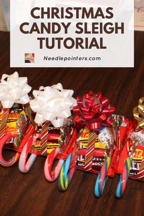 Candy Sleighs Tutorial - pin