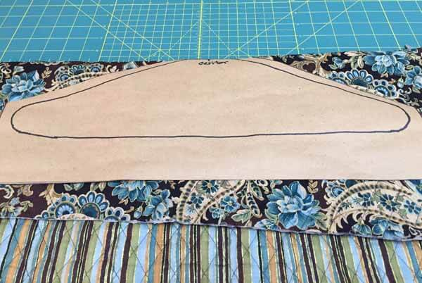 Clothes Hanger Covers with fabric