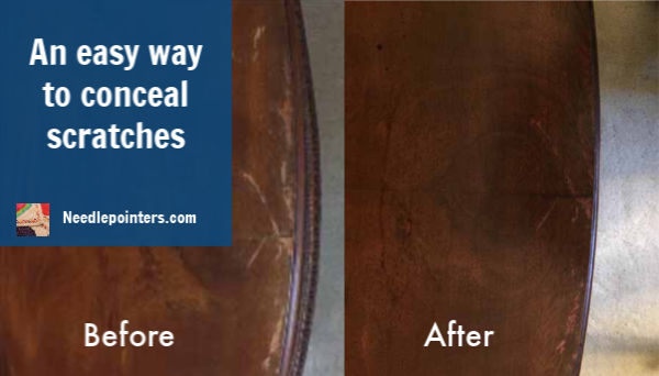 A trick to remember to Conceal Scratches - ad