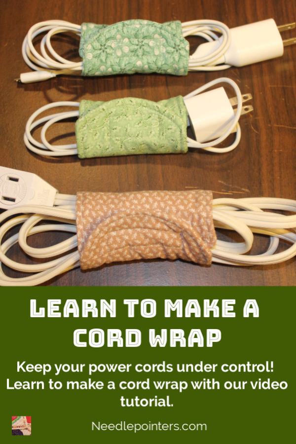 How to make a Cord Wrap - pin