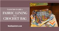 How to Line a Crocheted Bag
