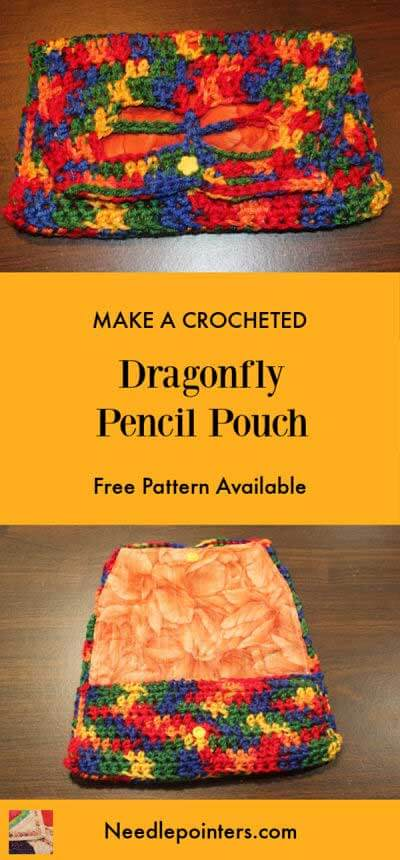 Dragonfly Pencil Pouch