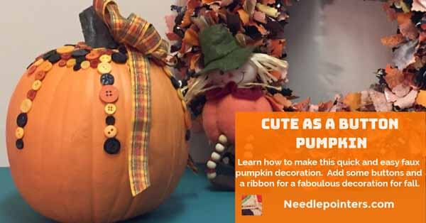Cute as a Button Pumpkin - facebook