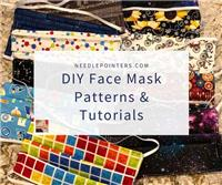DIY Homemade Face Mask Tutorials and Patterns