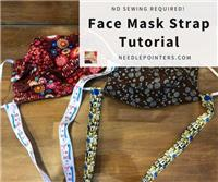 Face Mask Ribbon Lanyard